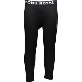 """""""Mons Royale M's Shaun-Off Folo 3/4 Long Johns Black"""""""
